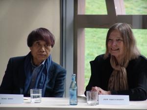 Anna Kubach Wilmsen mit Tadao Ando