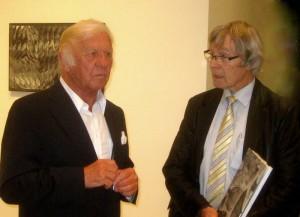 Heinz Mack im Gespräch mit Aloys Wilmsen