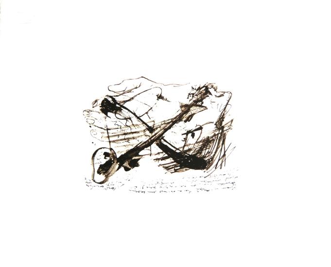 Antoni Tapies Grafik, Ecritures, 1977
