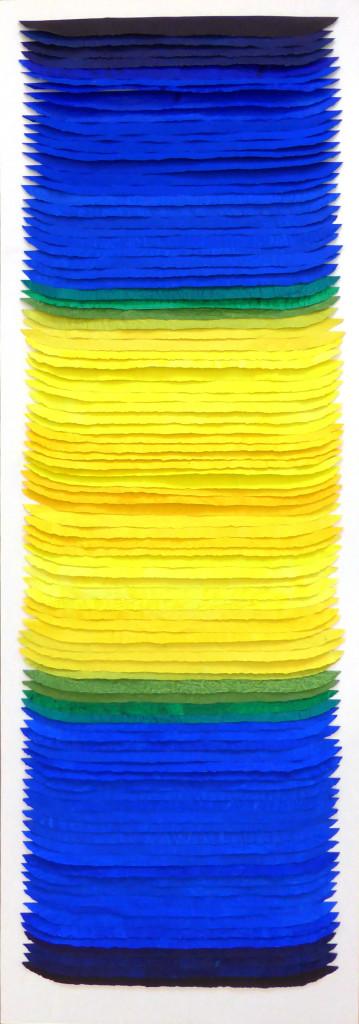 Frieda Martha Papierarbeit, Licht und Finsternis, 2015