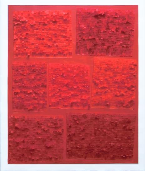 Papierarbeit, Sieben Gaben, 2014