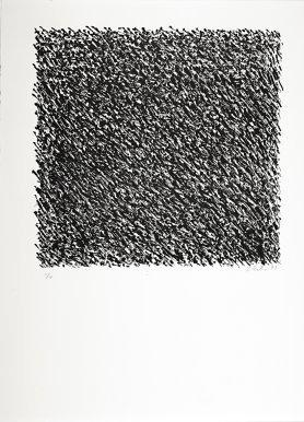 Günther Uecker Grafik, Manuelle Strukturen 1, 1975