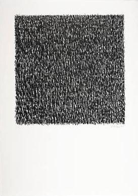 Günther Uecker Grafik, Manuelle Strukturen 7, 1975