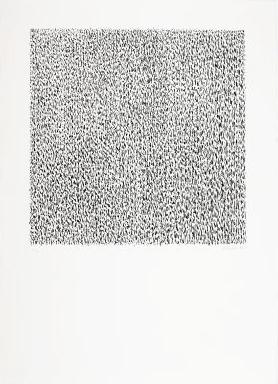 Günther Uecker Grafik, Manuelle Strukturen 8, 1975