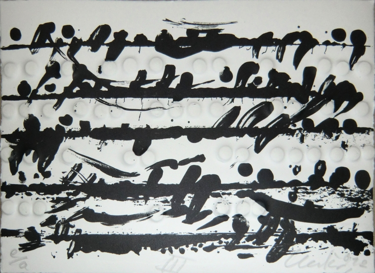 rägedruck, Optische Partitur 3 (Quer), 2012
