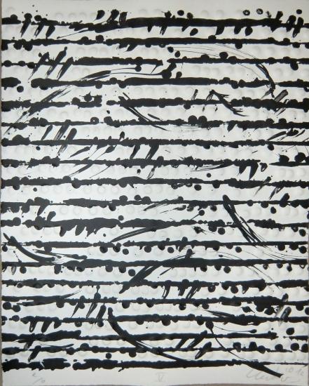 Prägedruck, Optische Partitur 5, 2012
