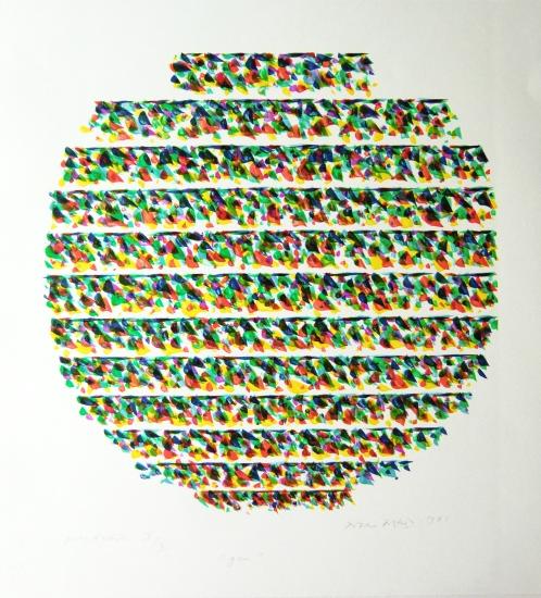 Piero Dorazio Grafik, Gea, 1981