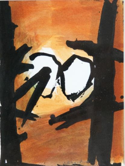 Josef Ebnöther Malerei, Ohne Titel, 1997, 1