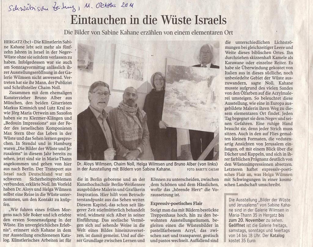 2011-10-11-Schwaebische-Zeitung-Kahane