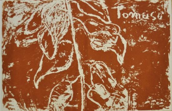 Jannis Kounellis Künstlerbuch - Thomas Evangelium - Blatt 7