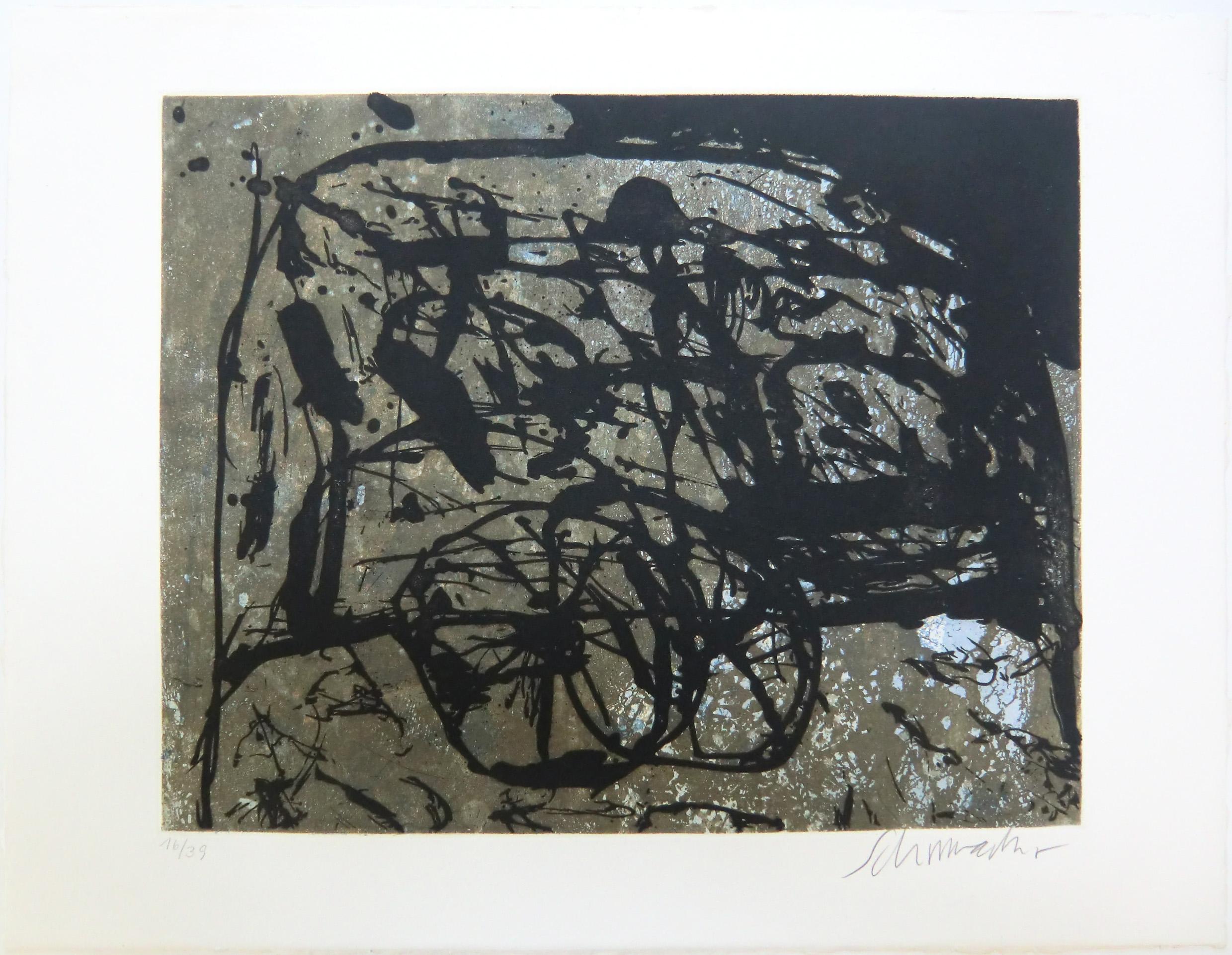Emil Schumacher Grafik 13-1990