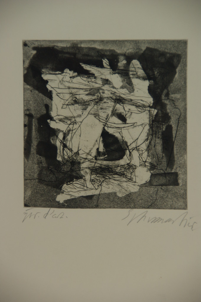 Emil Schumacher Grafik 2-1962