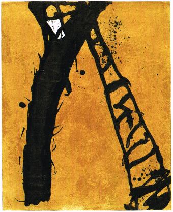 Emil Schumacher Grafik 21-1990