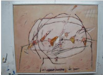 Josef Ebnöther, Malerei, Ernte