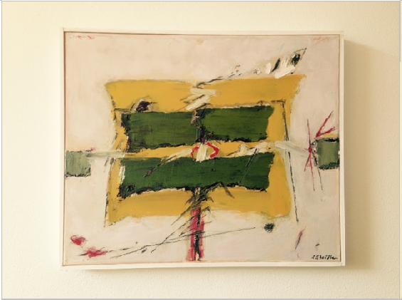 Josef Ebnöther Malerei, Erwartung