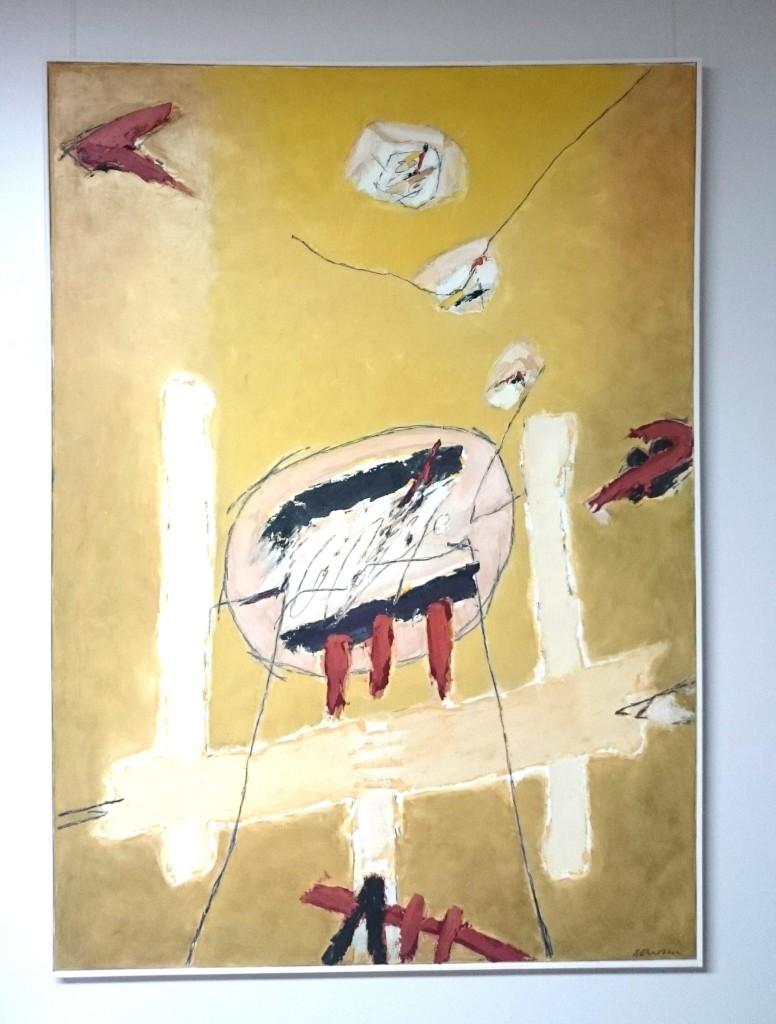 Josef Ebnöther Malerei, Gedankenräume
