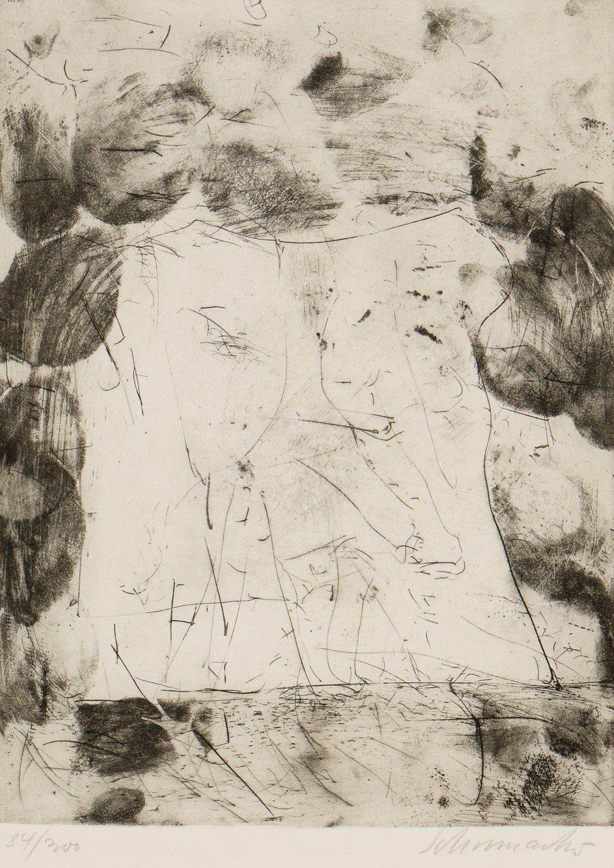 Emil Schumacher Grafik Komposition (Jahresgabe Kunstverein Münster)