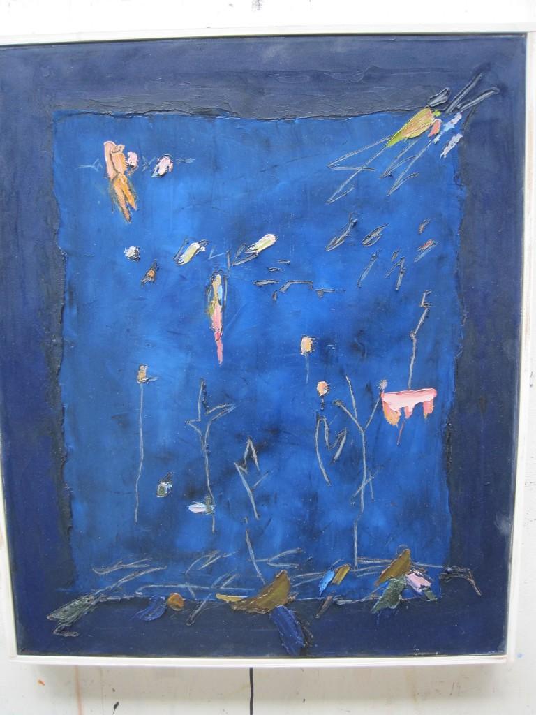 Josef Ebnöther Malerei, Nachtfenster