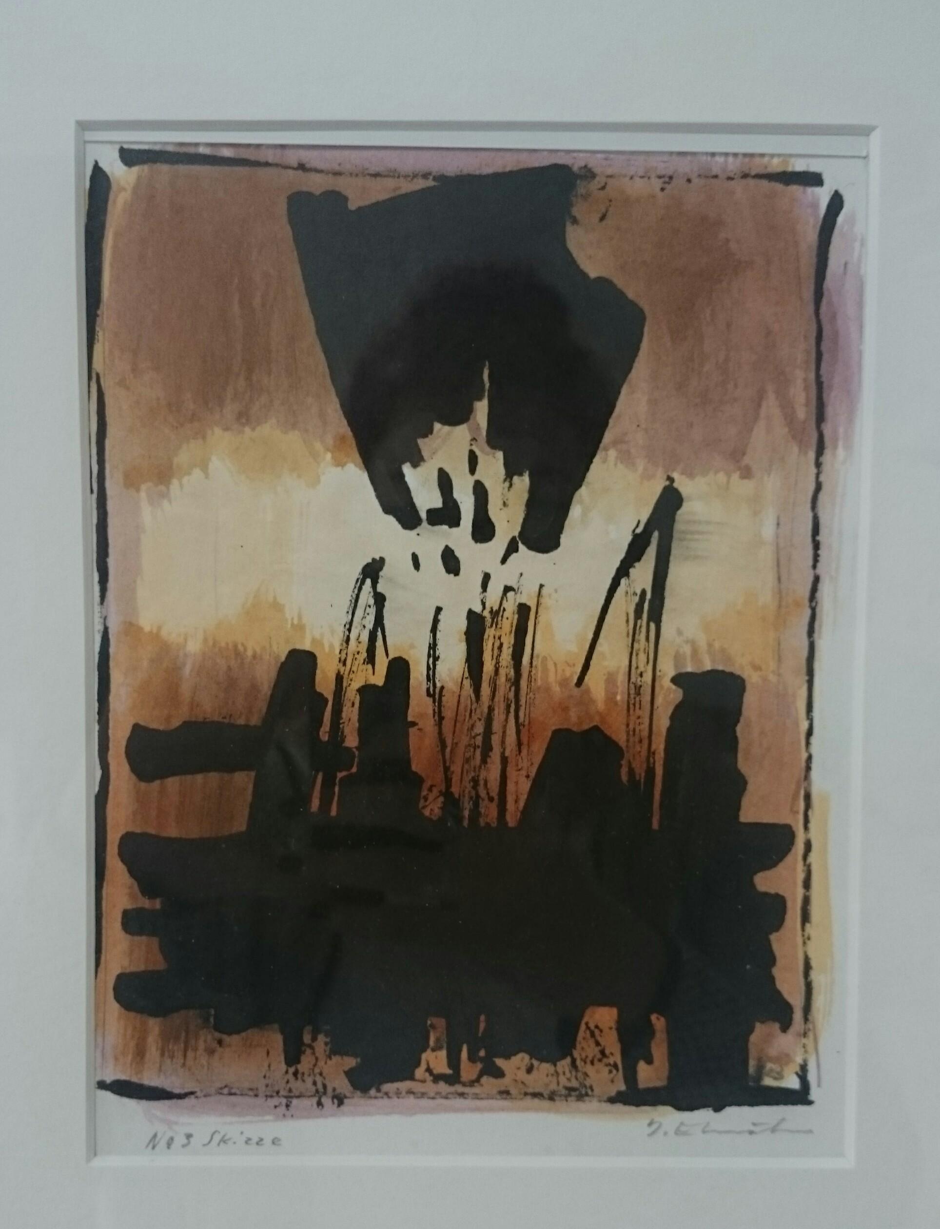 Josef Ebnöther Malerei, Ohne Titel