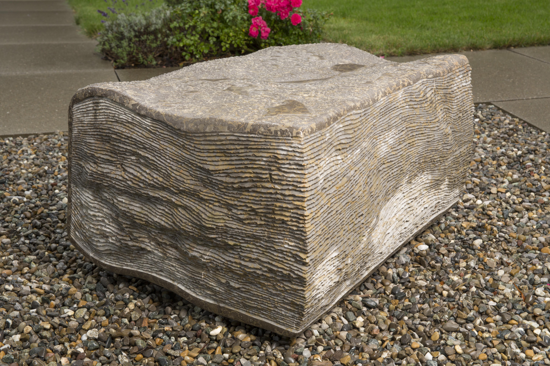 Kubach-Wilmsen 1985 Skulptur Steinbuch Frankreich
