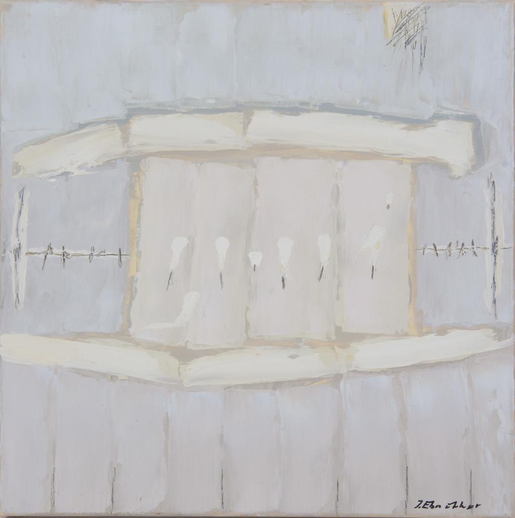 Josef Ebnöther, Malerei, Zartes