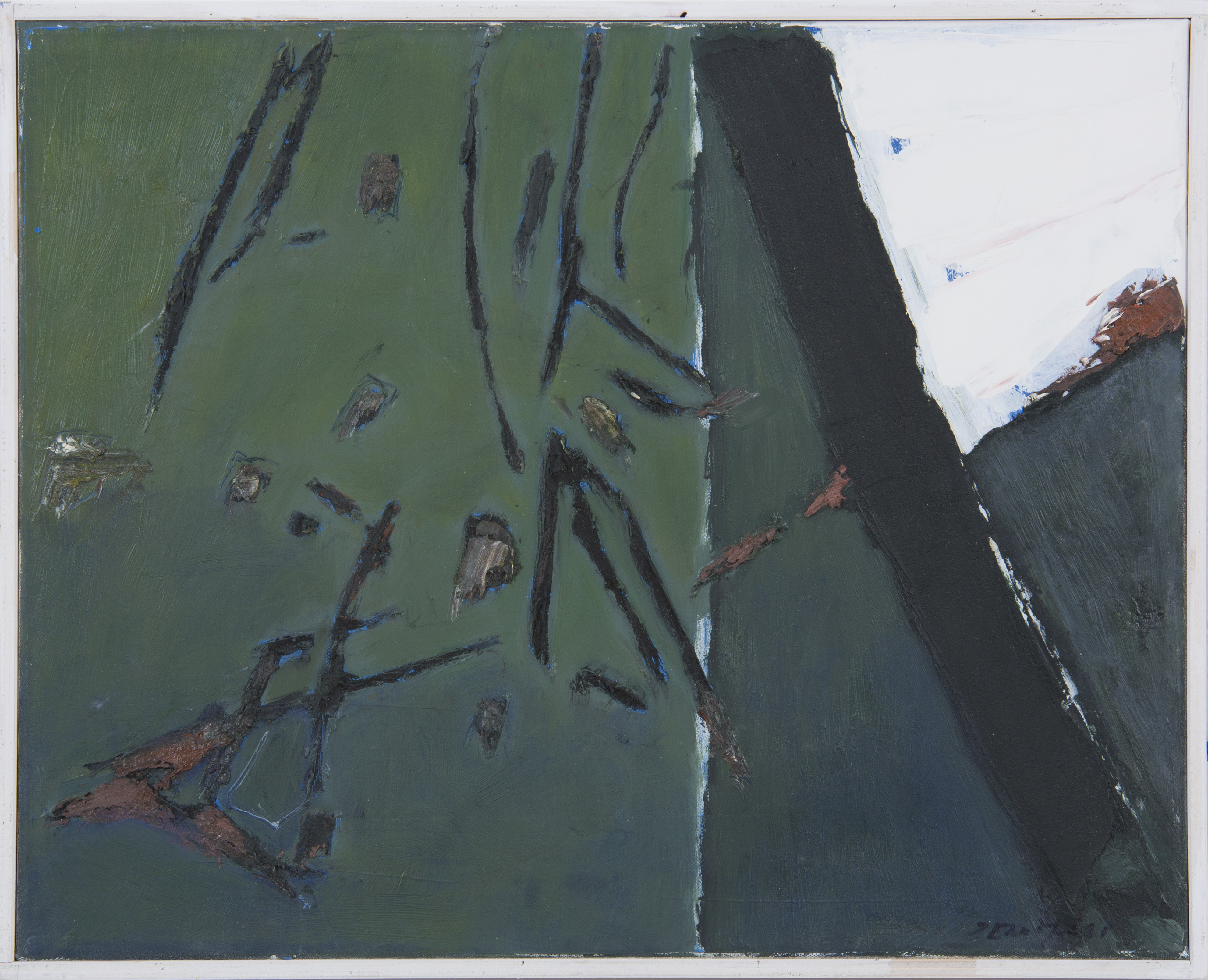Josef Ebnöther, Malerei, Geteilt