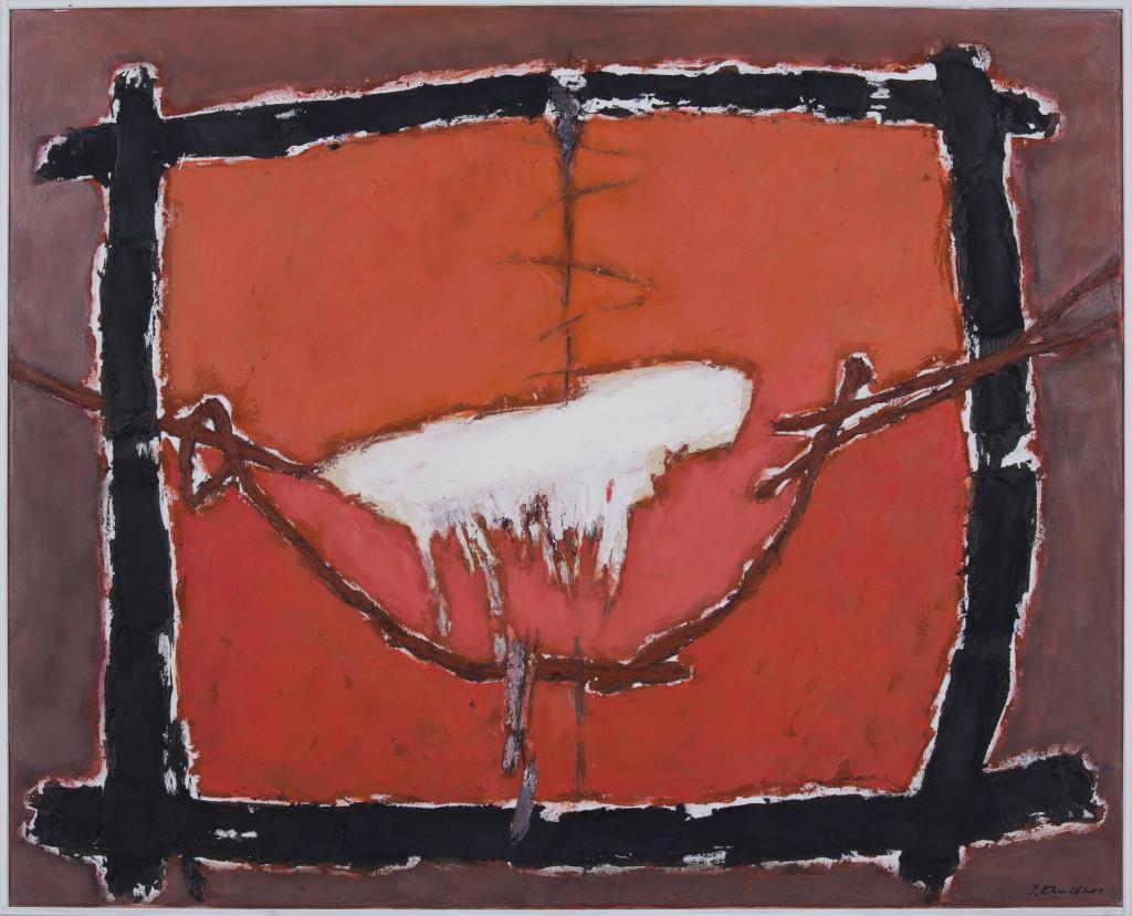 Josef Ebnöther, Malerei, Mein Raum