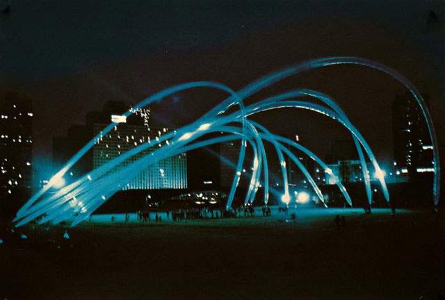 Otto Piene Grafik, Manned Helium Sculpture