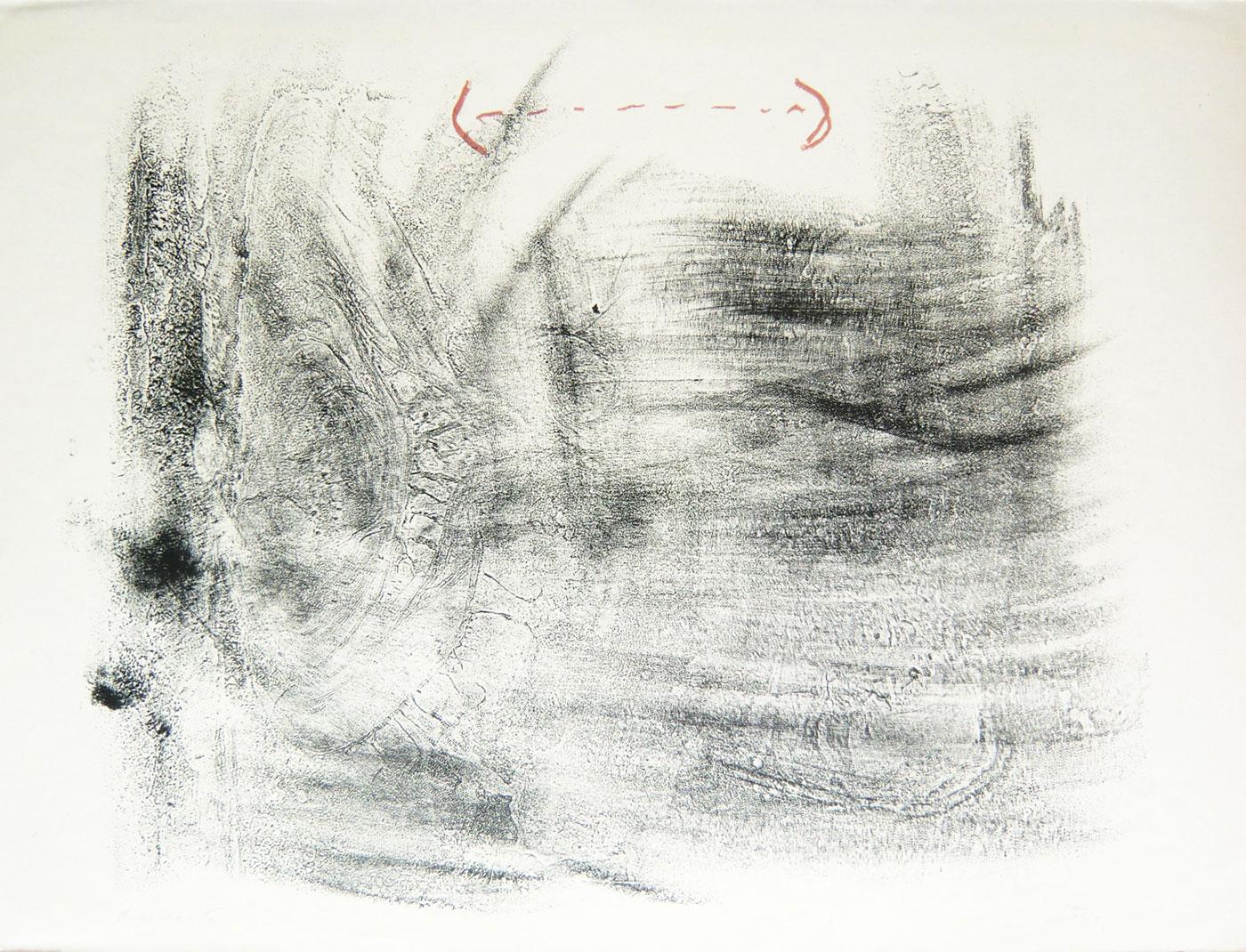 Antoni Tàpies Grafik, Frottage, 1965