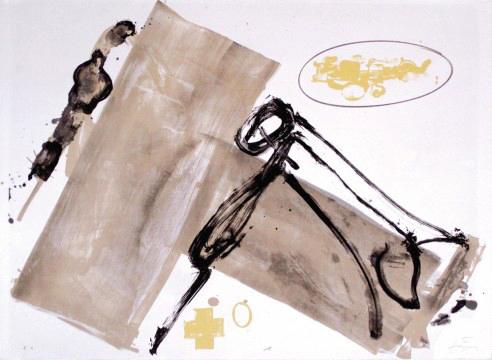 Antoni Tàpies Grafik, Suite Blatt 1, 1980