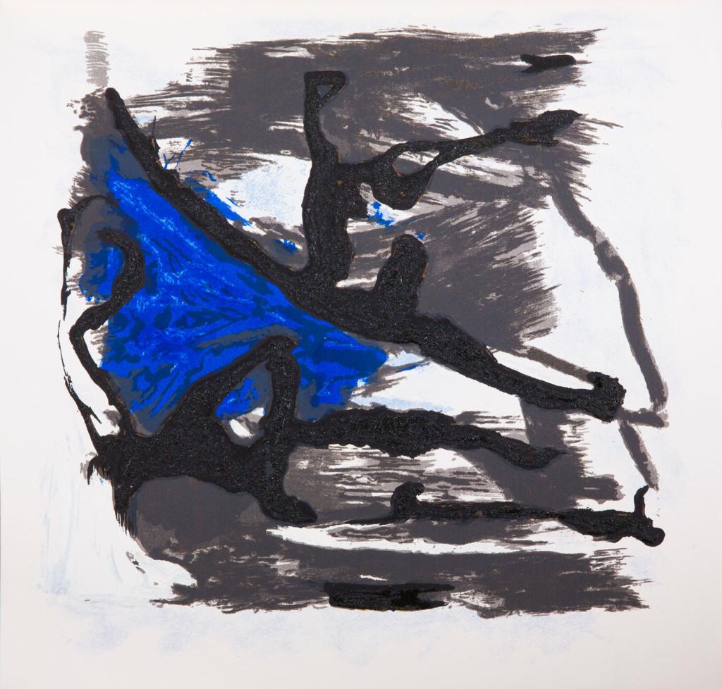 Emil Schumacher Grafik, Genesis Blatt 10, 1999