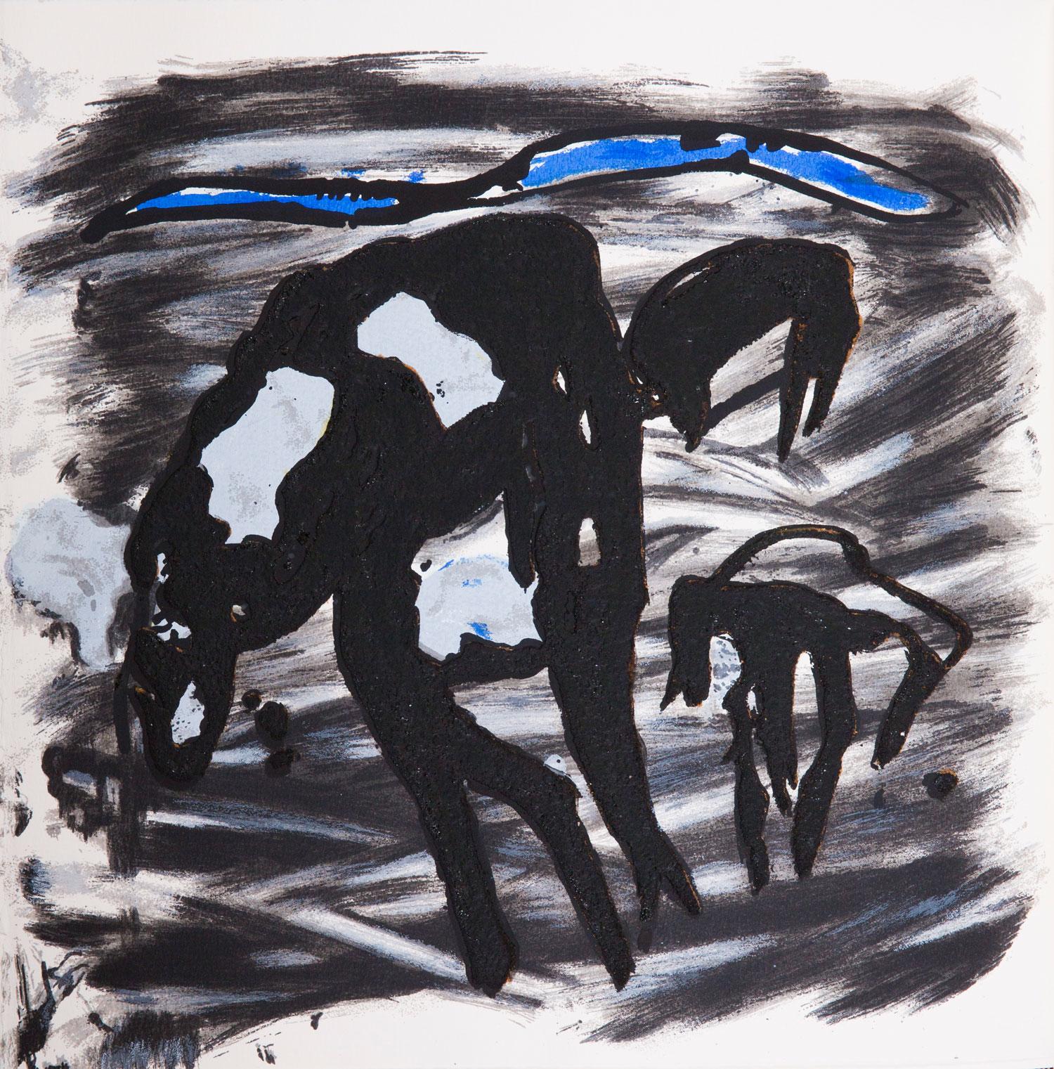 Emil Schumacher Grafik, Genesis Blatt 14, 1999