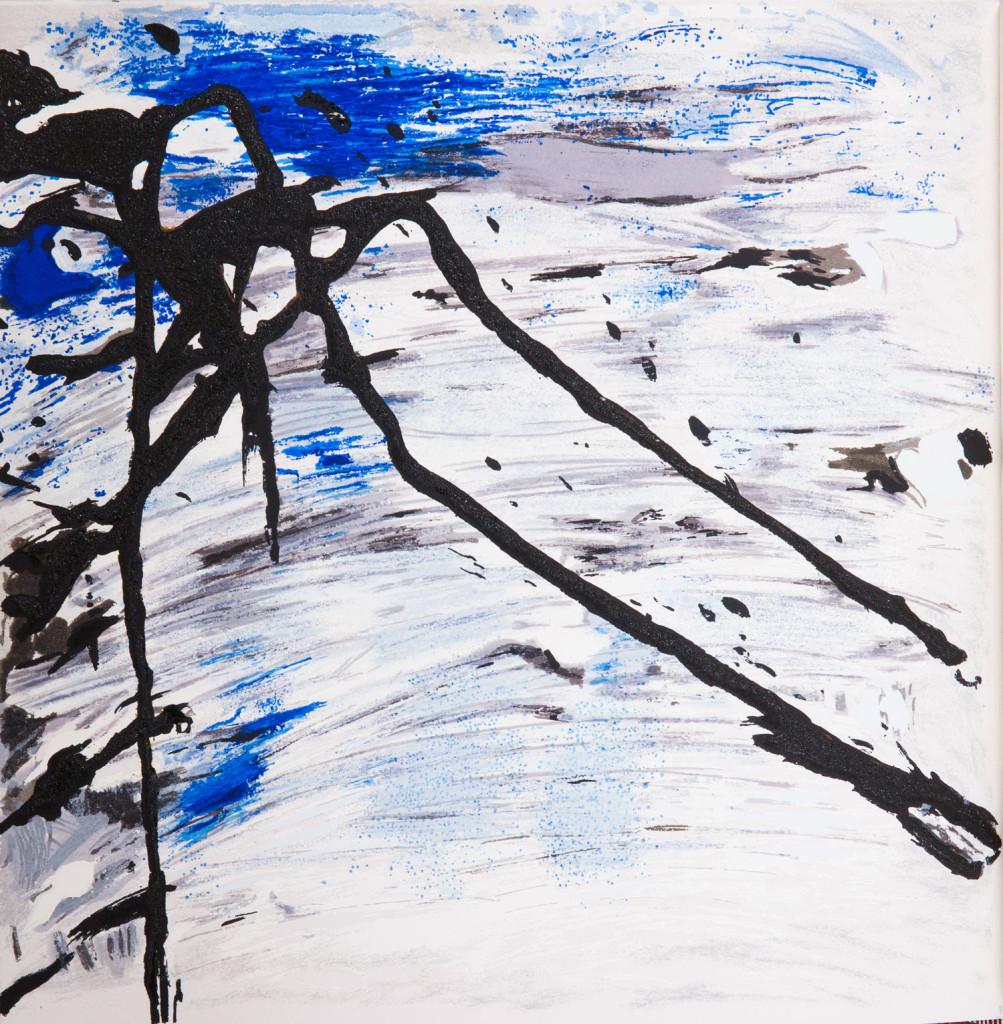 Emil Schumacher Grafik, Genesis Blatt 16, 1999