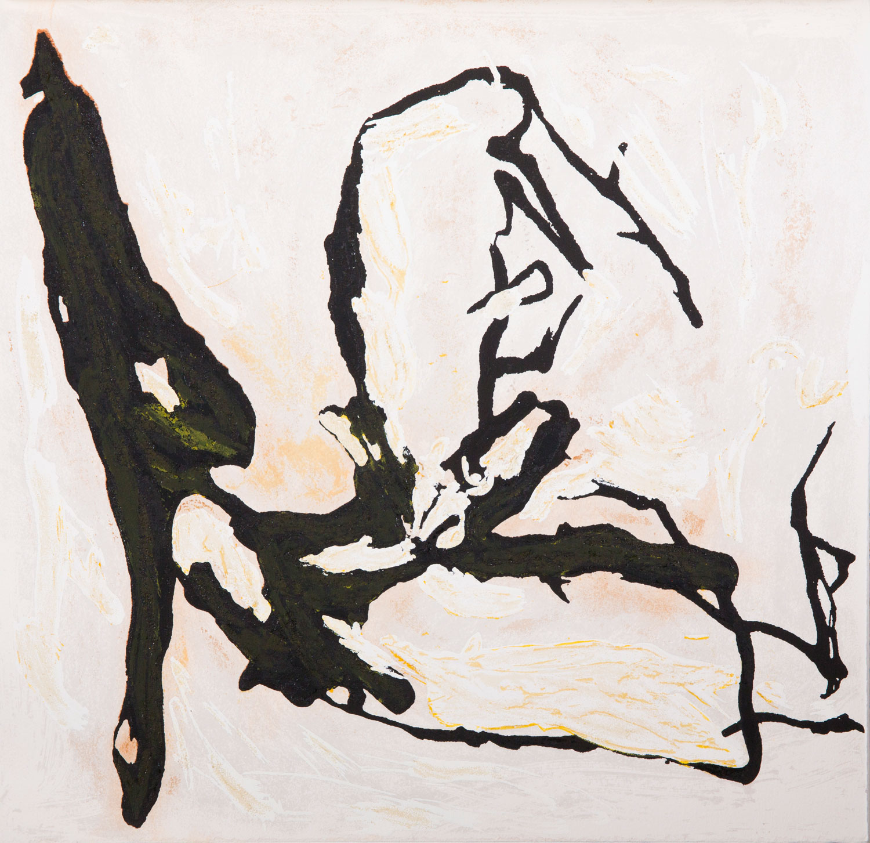 Emil Schumacher Grafik, Genesis Blatt 17, 1999