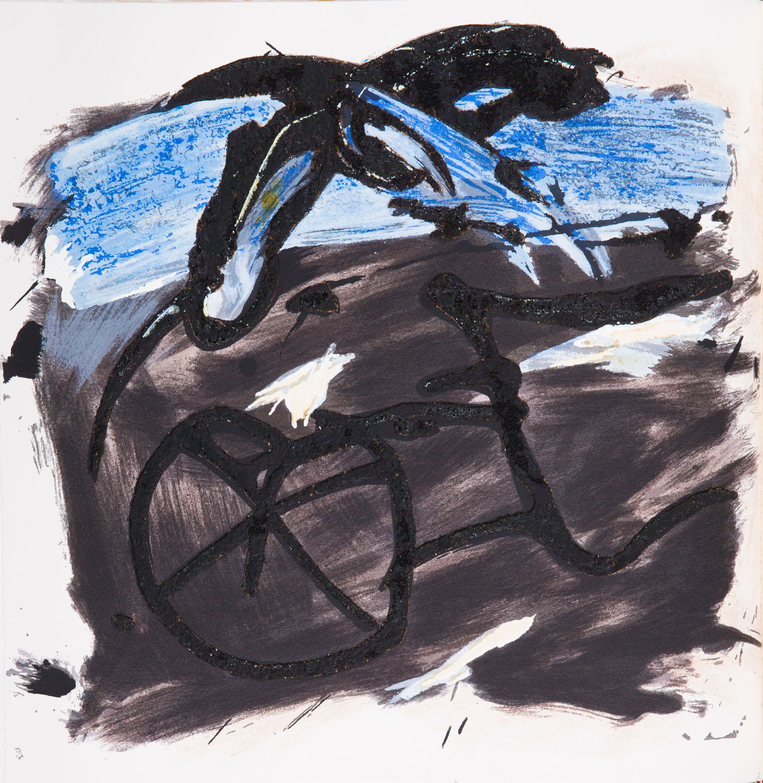 Emil Schumacher Grafik, Genesis Blatt 2, 1999