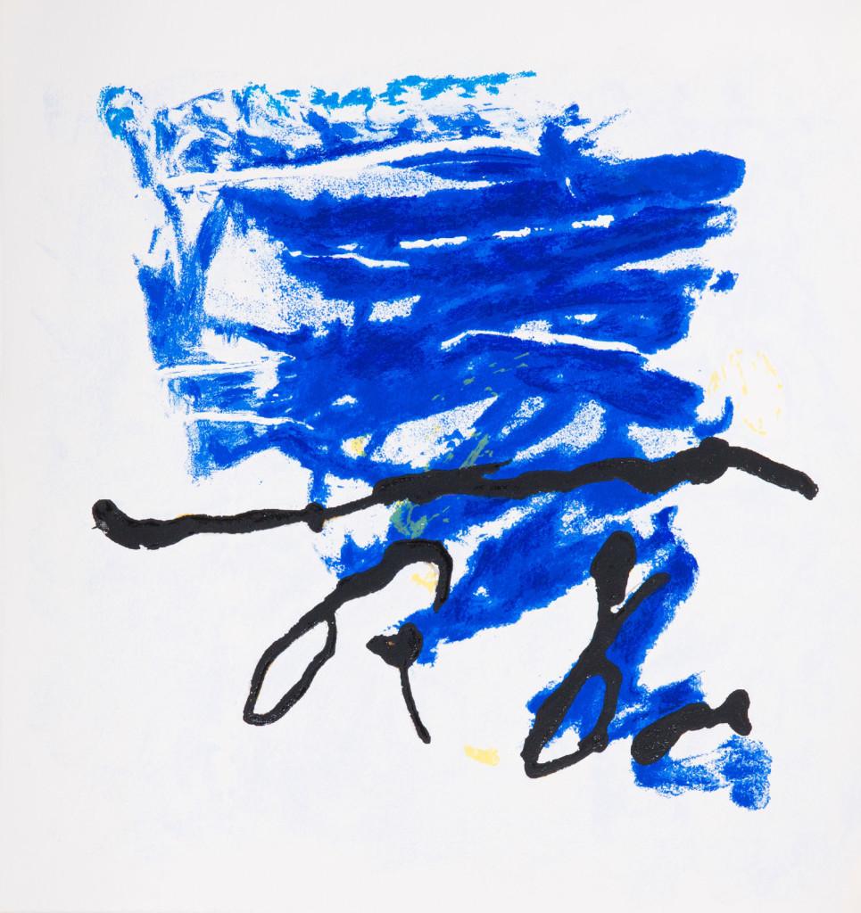 Emil Schumacher Grafik, Genesis Blatt 3, 1999