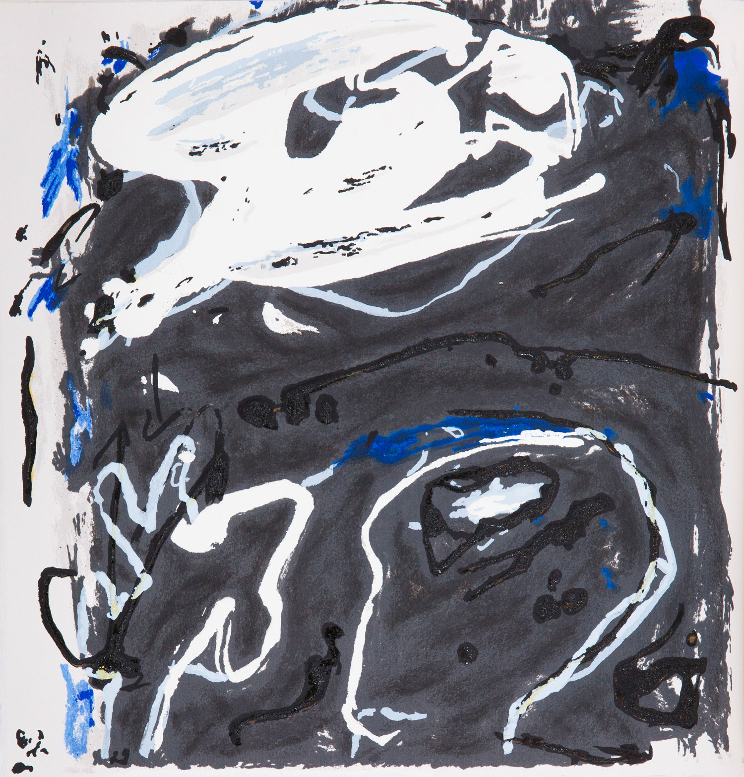 Emil Schumacher Grafik, Genesis Blatt 4, 1999