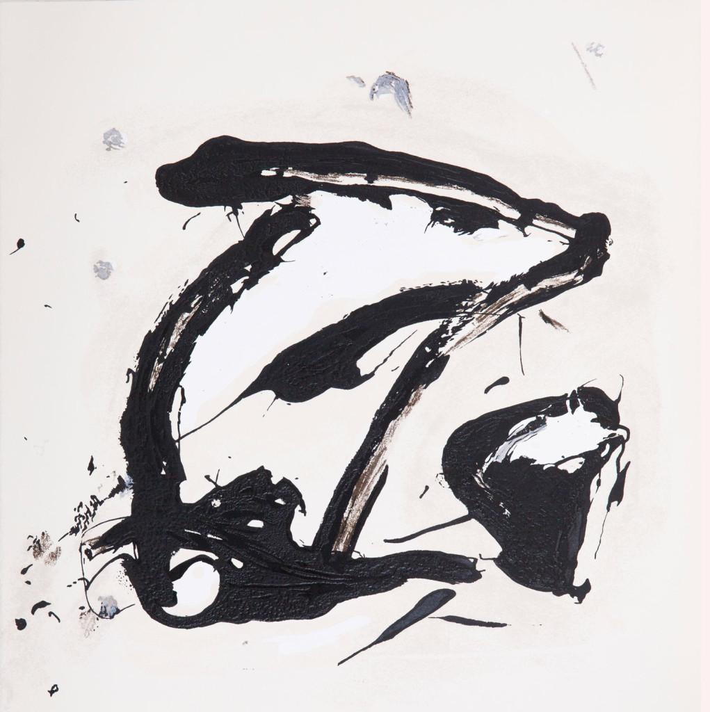 Emil Schumacher Grafik, Genesis Blatt 5, 1999