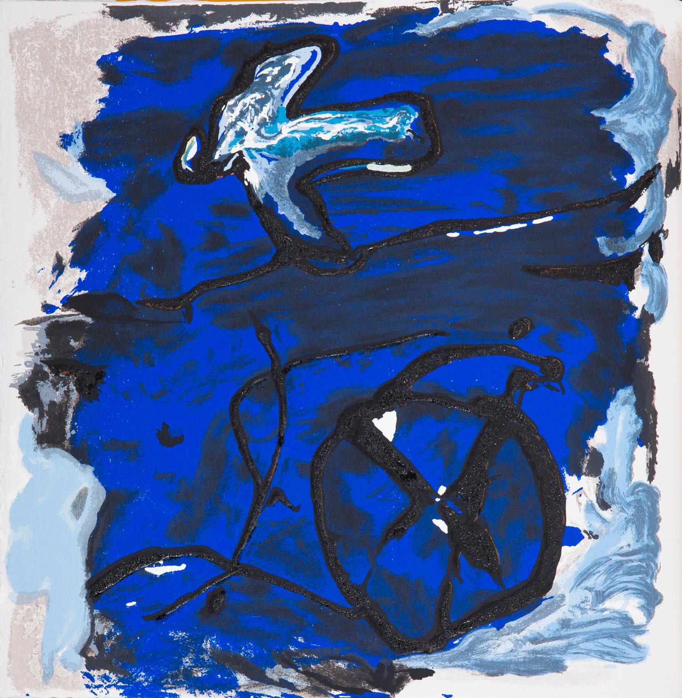 Emil Schumacher Grafik, Genesis Blatt 6, 1999