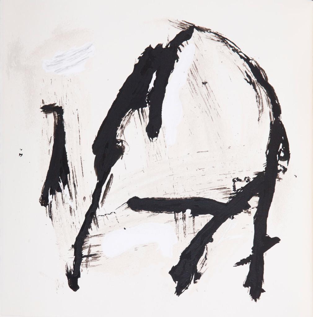 Emil Schumacher Grafik, Genesis Blatt 7, 1999