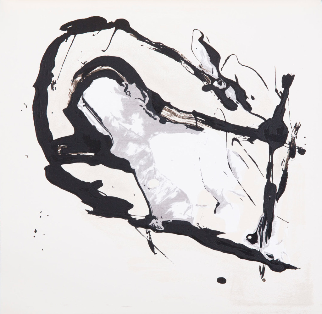 Emil Schumacher Grafik, Genesis Blatt 9, 1999