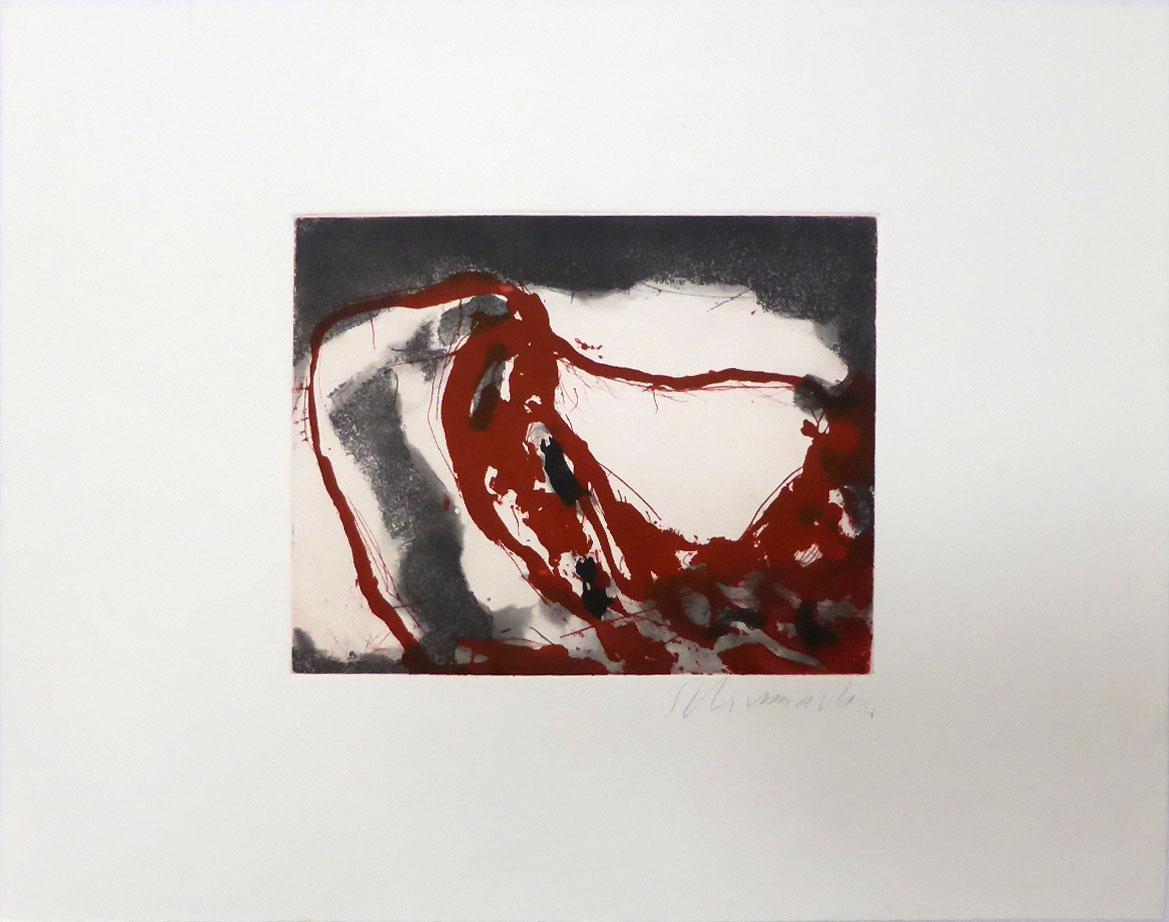 Emil Schumacher Grafik, 1 / 1965