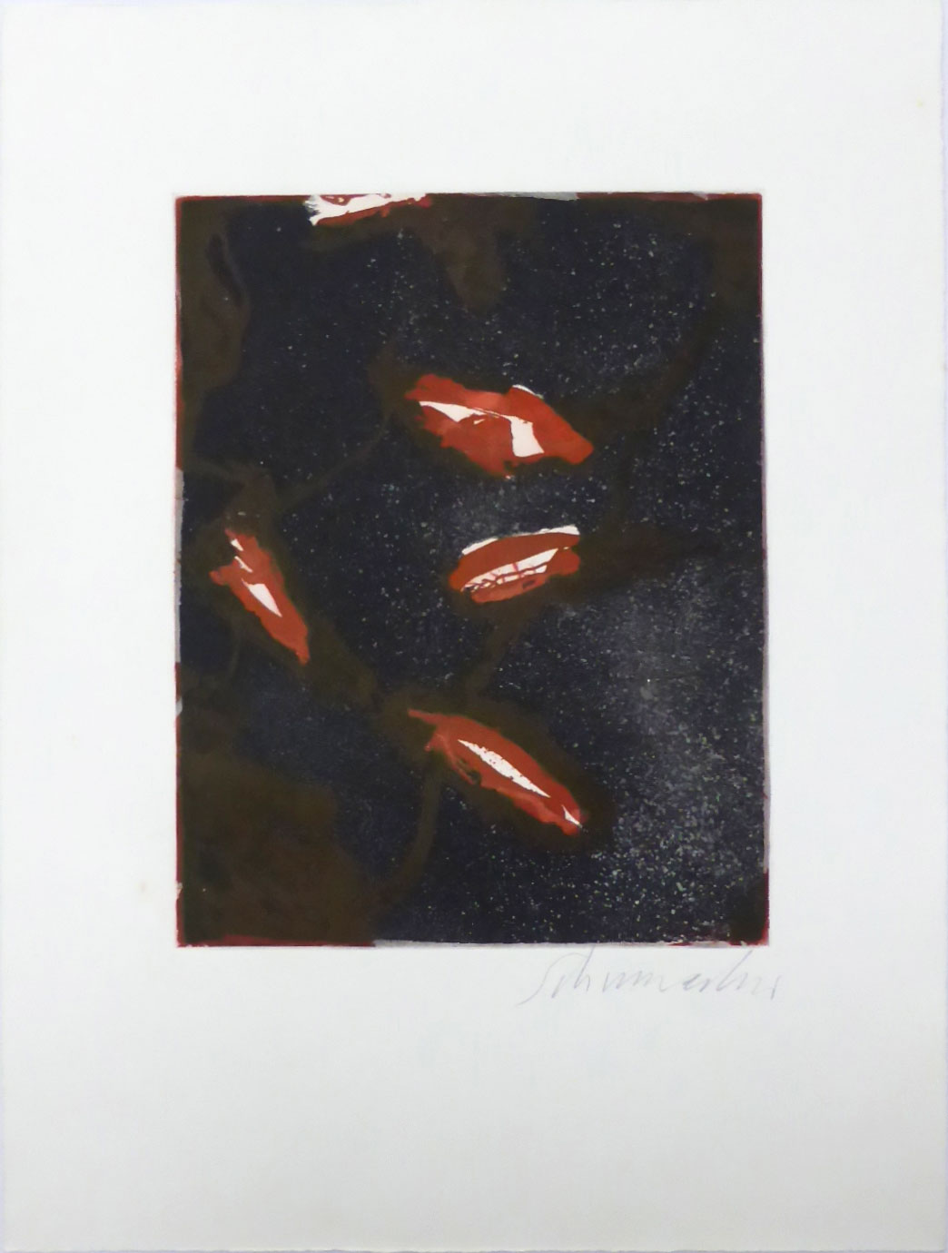 Emil Schumacher Grafik, 2 / 1965