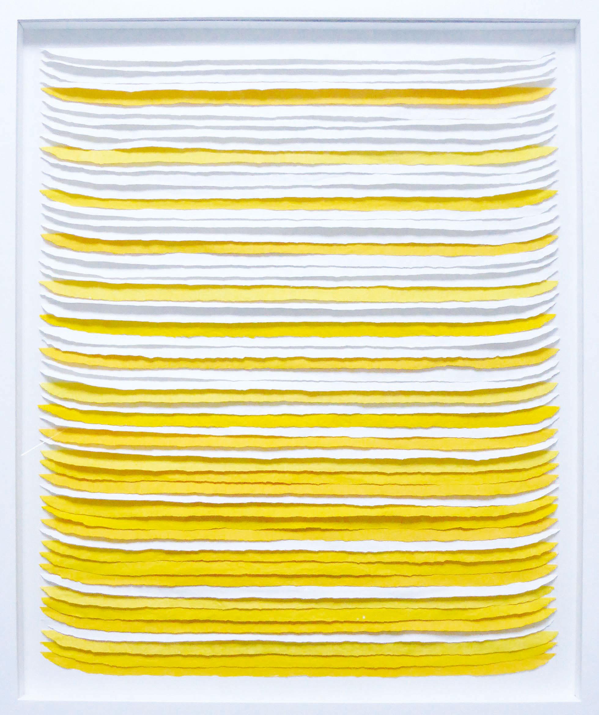 Frieda Martha Papierarbeit, Lichtgelber Tag, 2016