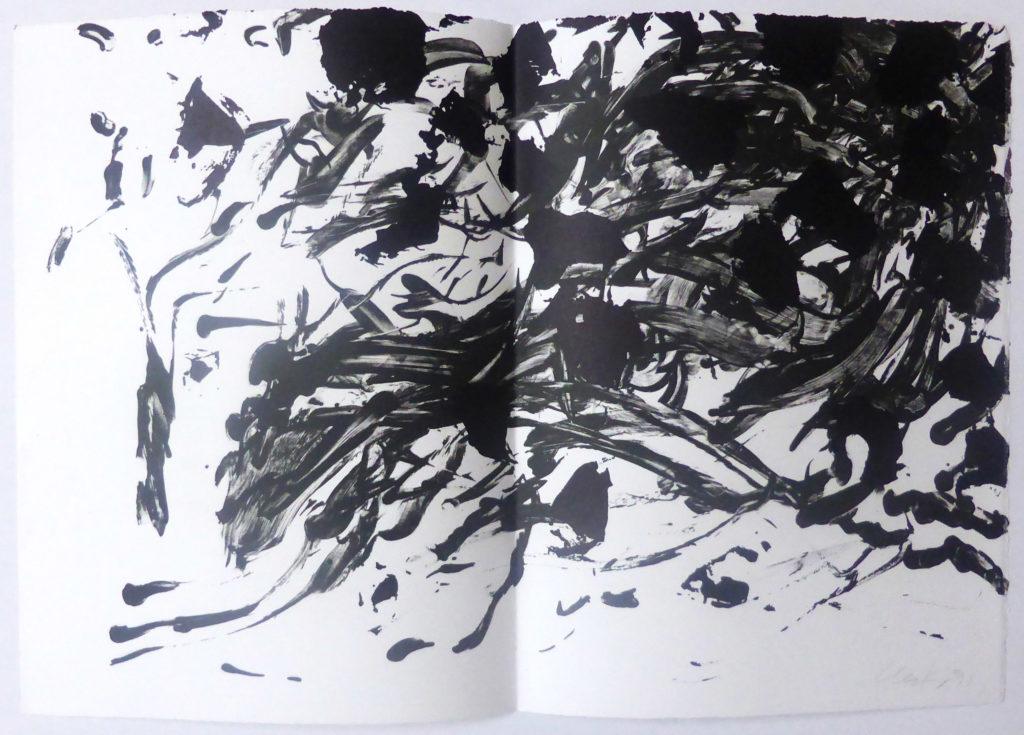 Günther Uecker Grafik, Ohne Titel, 1991