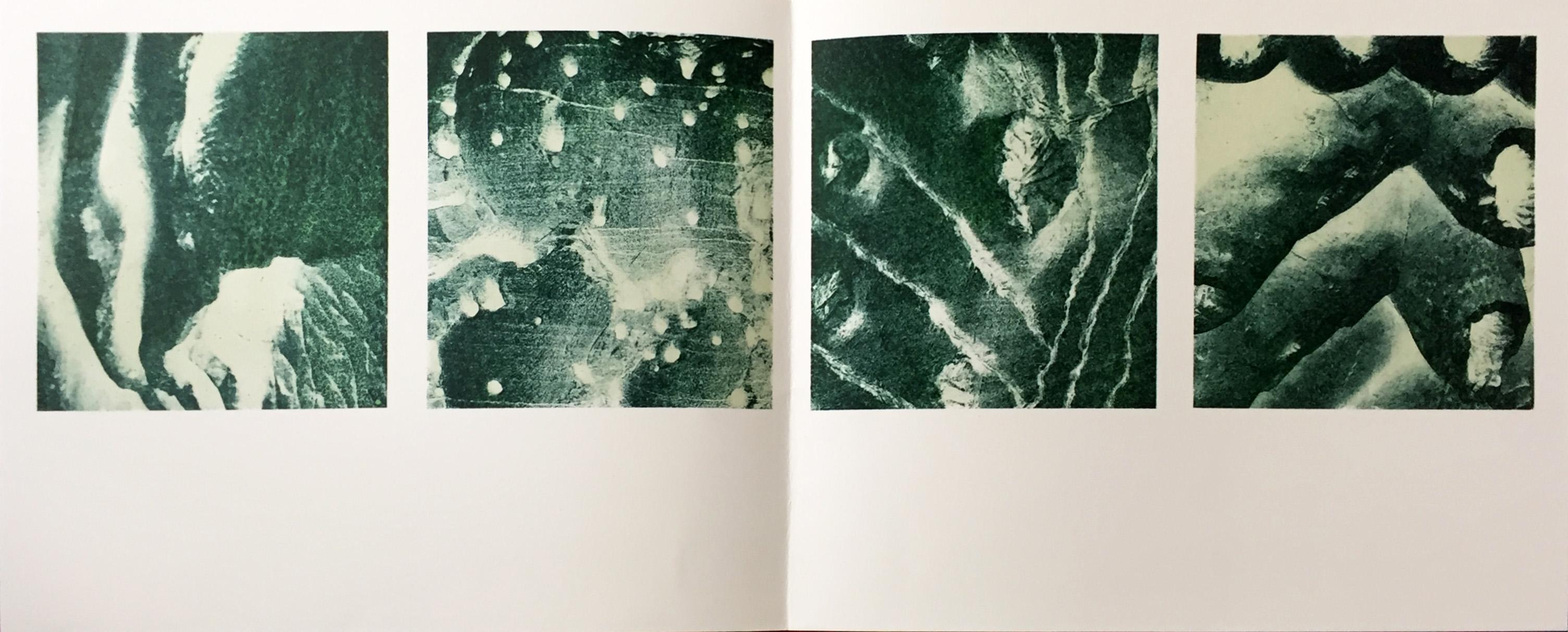 Peter Kamm Grafik, falten punktieren schalen Querschnitt, 1991-92