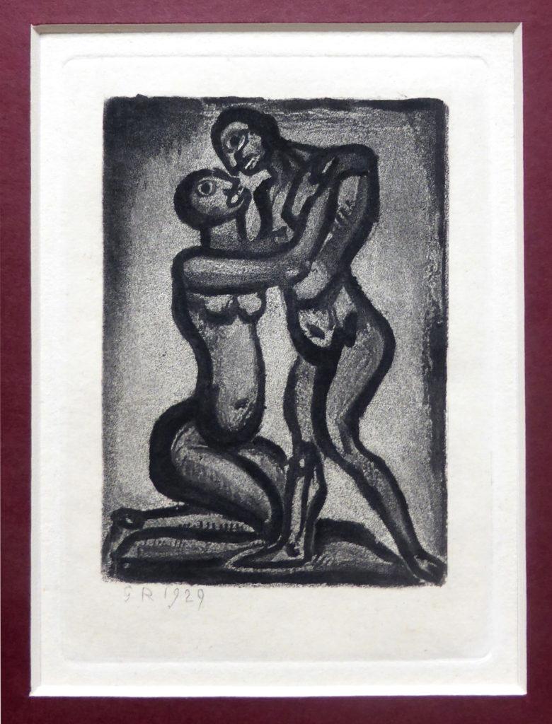 George Rouault Grafik, Reincarnation, Blatt 16, 1929