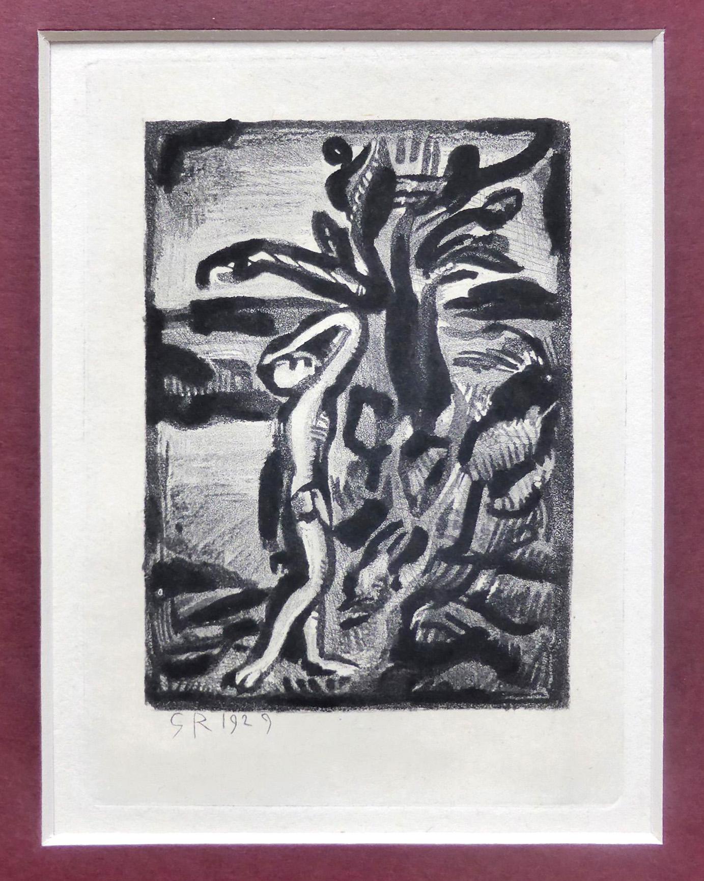 George Rouault Grafik, Reincarnation, Blatt 21, 1929