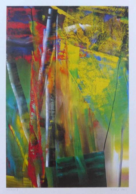 Gerhard Richter Grafik, Victoria 1, 2013