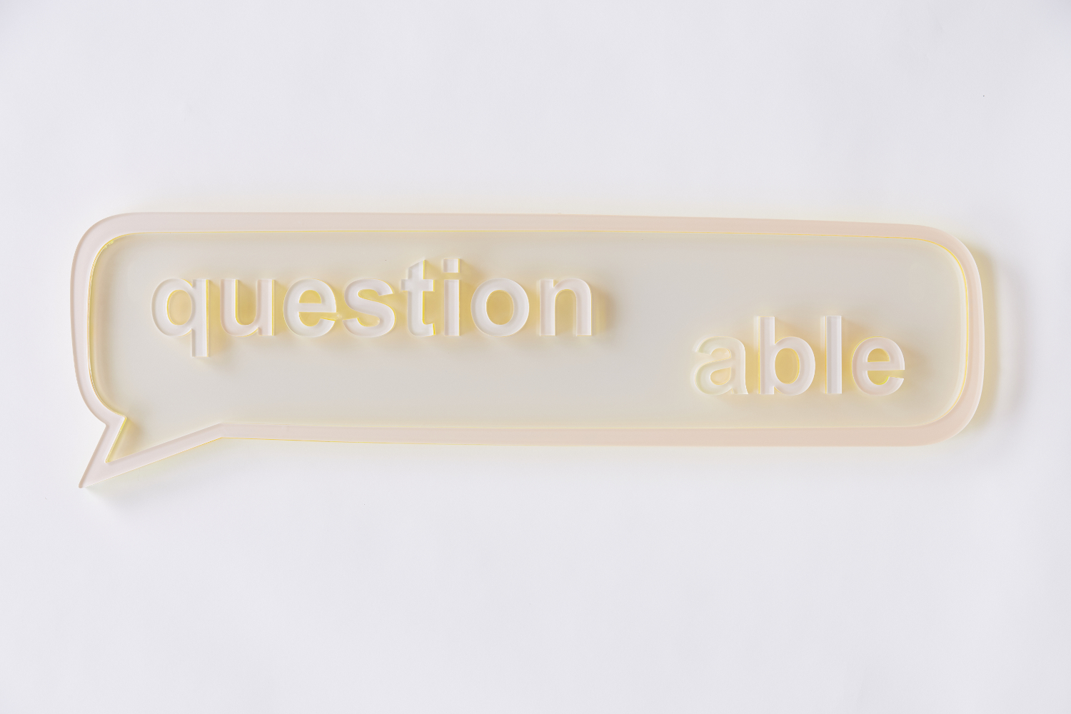 Tamar Klar, Question able, 2017